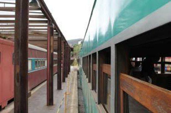 Passeio de Maria Fumaça até Mariana :                                     Trem - Ouro Prêto-Mariana
