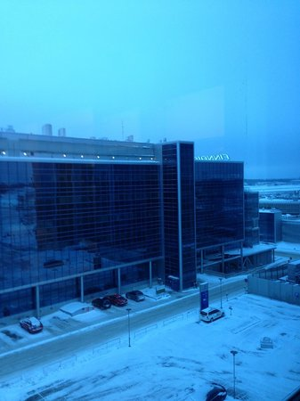 "Hilton Helsinki Airport: """"view"" (or rather non view unless you love airports)"