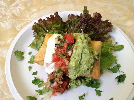 Holy Guacamole: Chimichanga