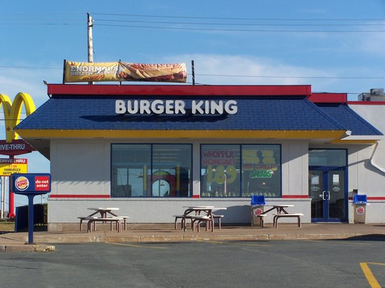 Burger King Prince George 1023 Central St W