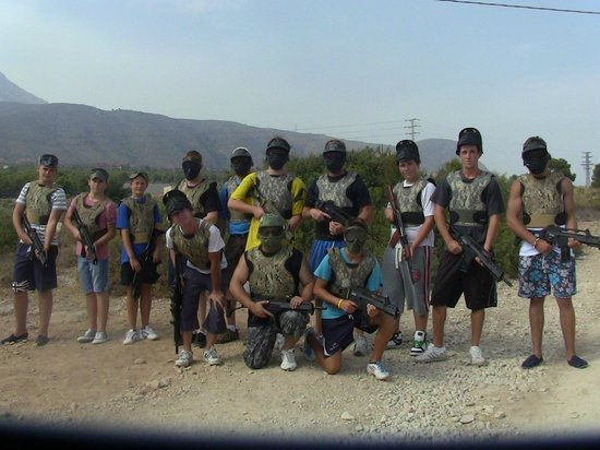 Benidorm Airsoft:                   our group