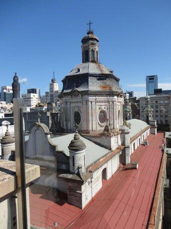 Moreno Hotel Buenos Aires:                   Vista do Terraço