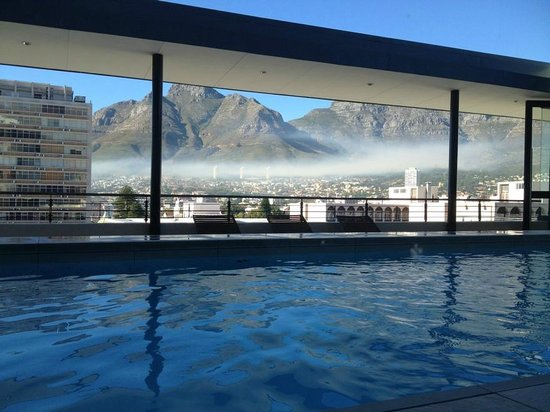 Pepperclub Hotel & Spa: View from the rooftop pool