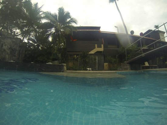 The L Resort Krabi:                                     Swimming pool, taken with a underwater cam.
