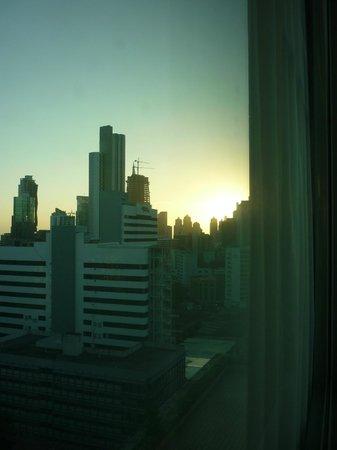 Veneto Hotel & Casino:                   vista desde el 12vo piso .. un bello amanecer !!!