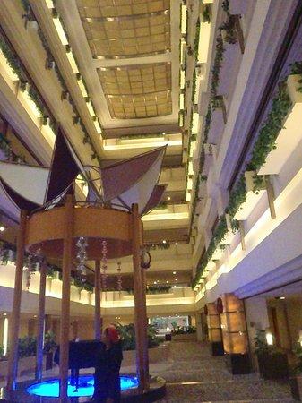 Metropark Hotel Shenzhen:                   the foyer