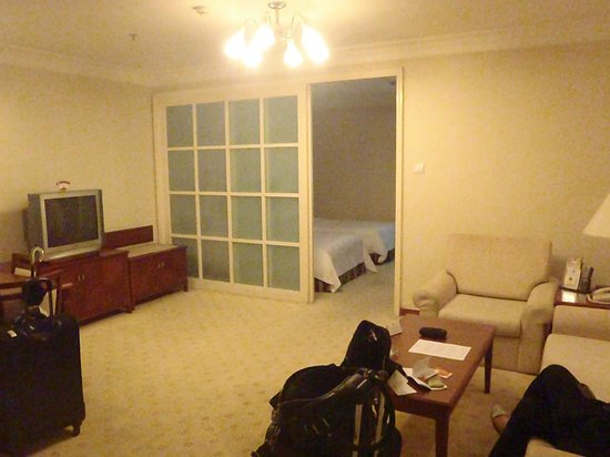 Metropark Hotel Shenzhen:                   The lounge room