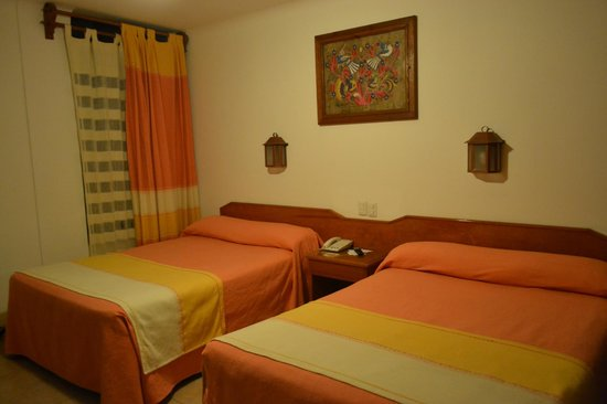 Hotel Oaxaca Real:                   Habitación doble
