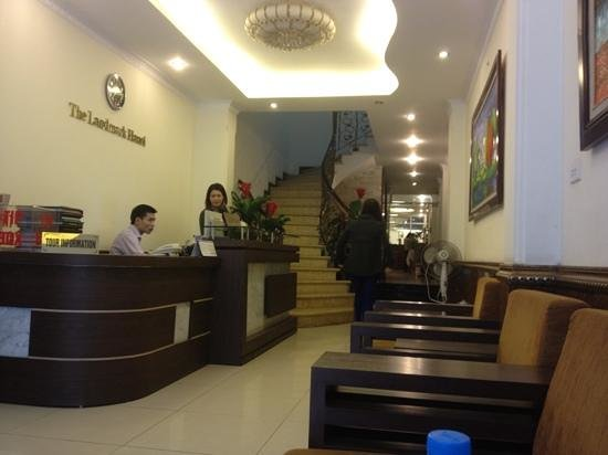 The Landmark Hanoi Hotel:                   Reception