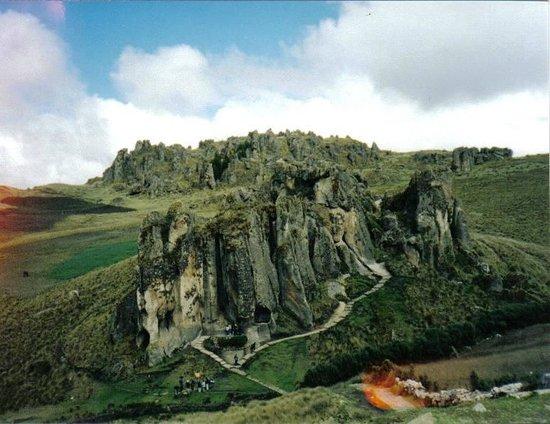 Cajamarca, Perú:                   Entrada principal de Cumbemayo