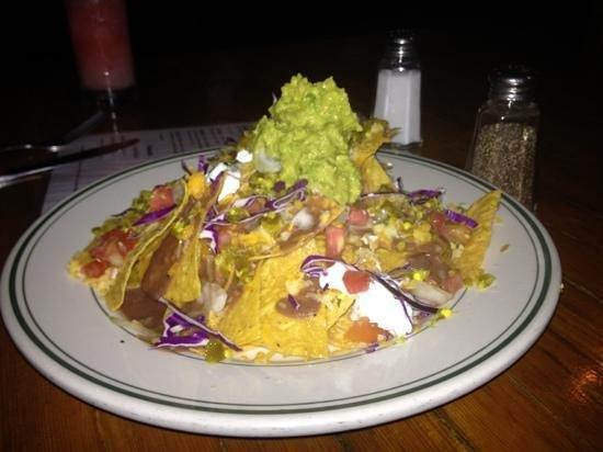 Chinchillas Mexican Restaurant & Bar:                   NATcho Mommas nachos.