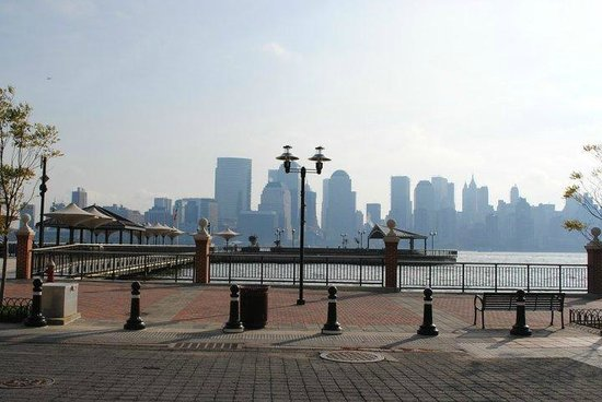 NYC-JC Guest Suites:                   Manhattan Skyline view from the riverside