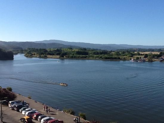 Diego de Almagro Valdivia Hotel:                                                       vista desde la habitacion