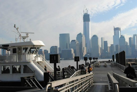 NYC-JC Guest Suites:                   The ferry to Manhattan