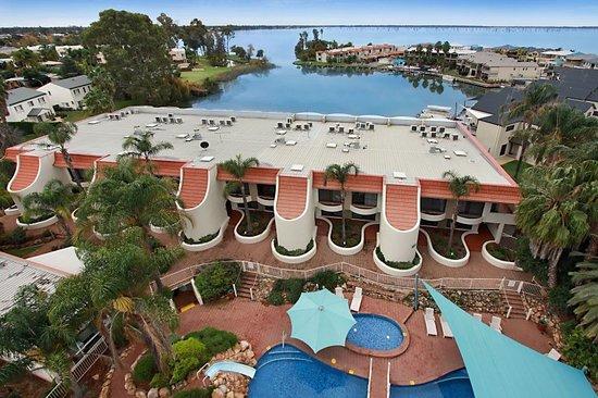 Mulwala, Australia: Aerial View Resort