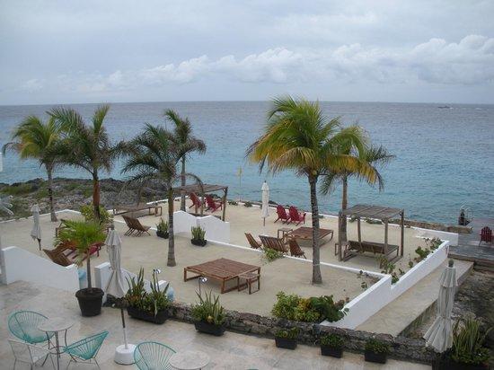 Hotel B Cozumel:                   beach area