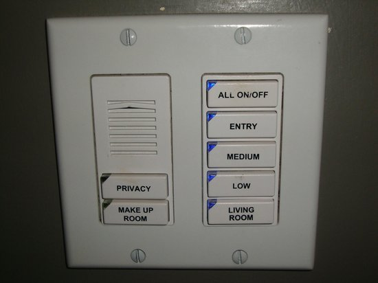 Waldorf Astoria Chicago:                   Light/Control Panel.
