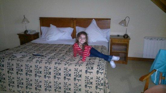 Hotel Kosten Aike:                   la habitacion