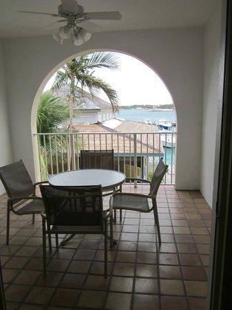 Paradise Harbour Club & Marina:                   Porch