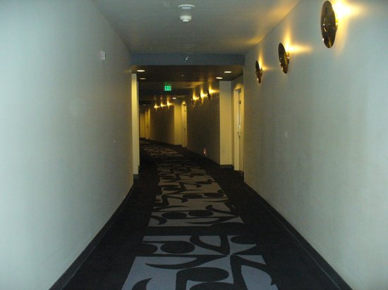 Hard Rock Hotel and Casino:                   Third floor hall