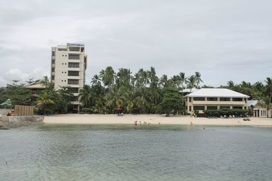Costabella Tropical Beach Hotel:                   отель.вид с пирса