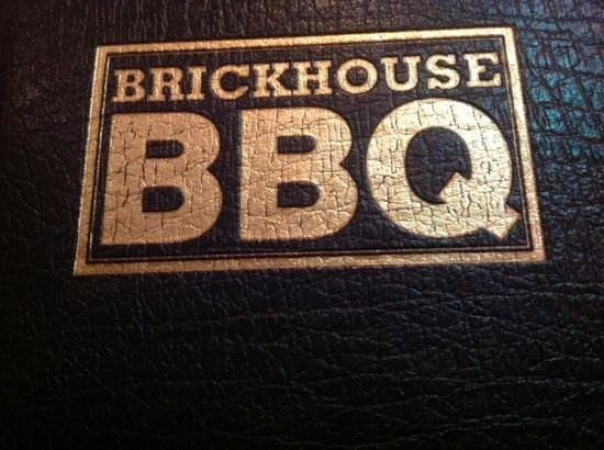 Brickhouse BBQ: menu logo