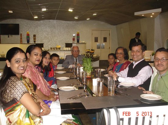 The Theme, Jaipur:                   Good Wishes at the table