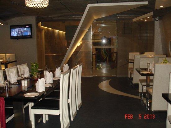 The Theme, Jaipur:                   The decor of the journey venue