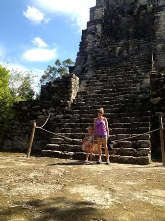 Quintana Roo, Mexico:                                     you can no longer climb Muyil ruins. 2/5/13
