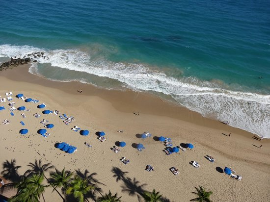 San Juan Marriott Resort & Stellaris Casino:                   Balcony view