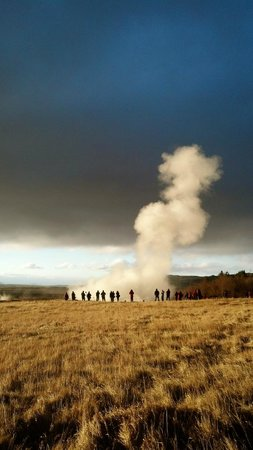Iceland Horizon - Golden Circle Tour:                   Amazing active geyser!
