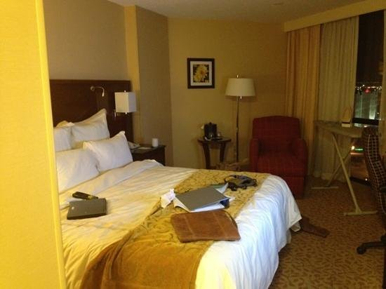 Albuquerque Marriott :                   Standard room with king (in use)