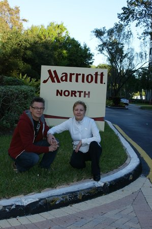 Fort Lauderdale Marriott North:                   My Parents