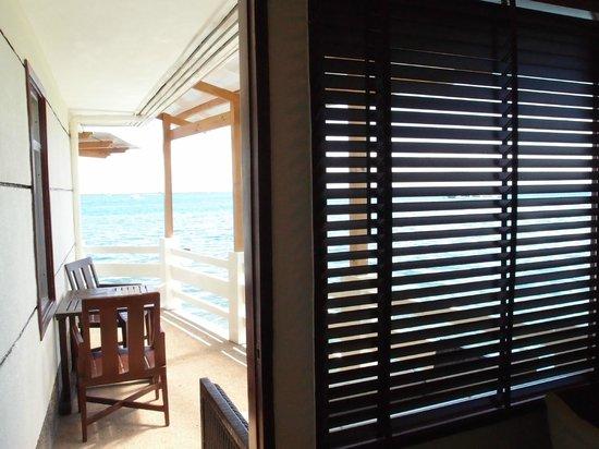 BlueFins Resort:                                                       balcony