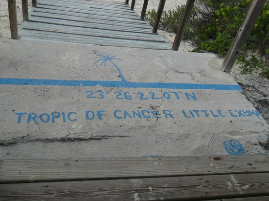 Tropic of Cancer Beach:                   Tropic of Cancer line
