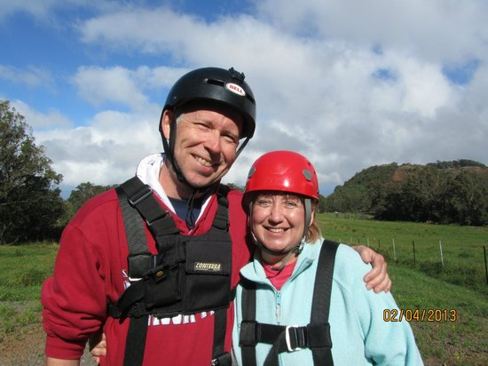 Piiholo Ranch Zipline: Fun in the treetops