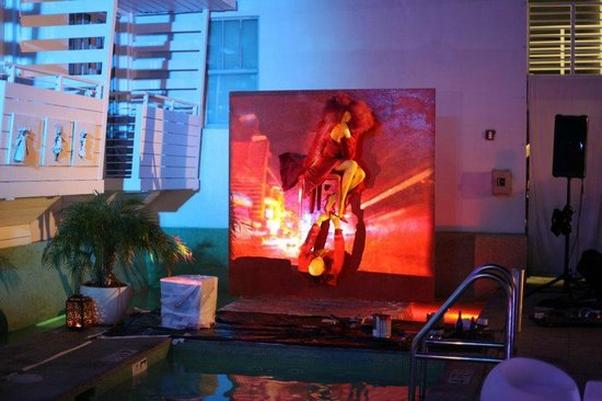 Clinton Hotel South Beach:                                     Art Soiree's Art Metamorphosis  - fall
