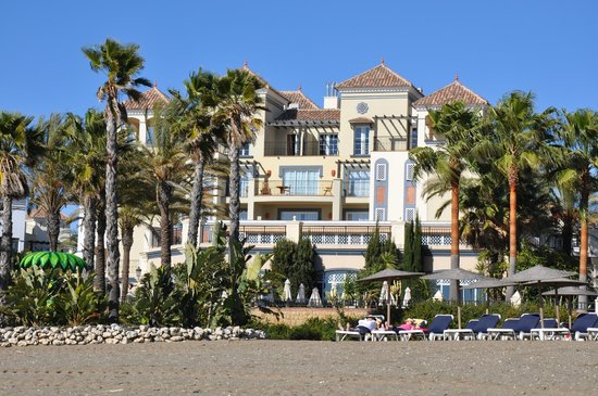 Marriott's Playa Andaluza: View from the beach