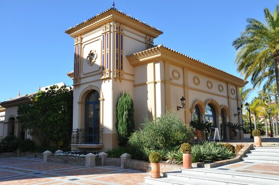 Marriott's Playa Andaluza: Welcome center/reception
