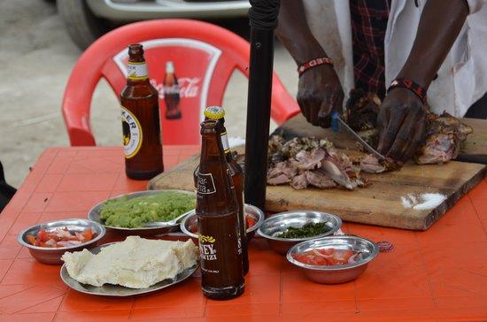 Nyama Choma Stalls