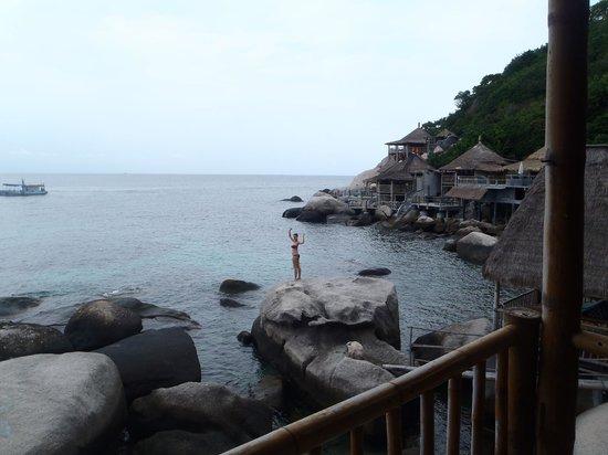Koh Tao Bamboo Huts:                   Nice view