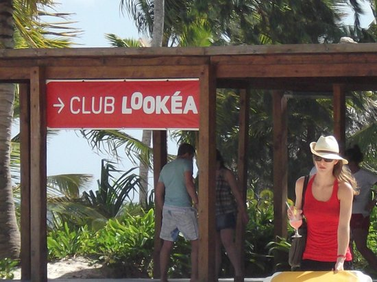 Catalonia Bavaro Beach, Casino & Golf Resort:                                     Club Lookea a french private european club for guests