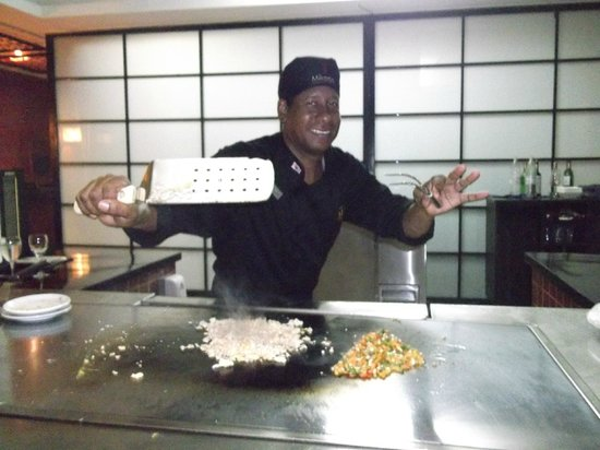 Catalonia Bavaro Beach, Casino & Golf Resort:                                     The MIKADO Japanese Resturant Chef