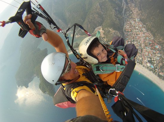 Reaction Paragliding:                                     Our Son.