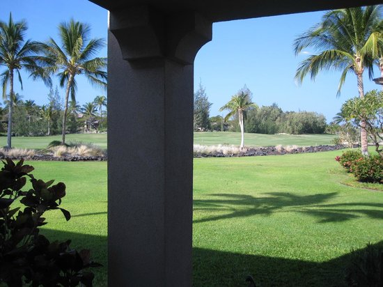 Aston Waikoloa Colony Villas:                   lanai
