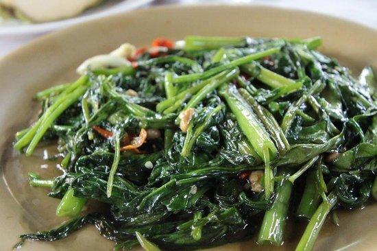 99 Seafood: kang kong vegi
