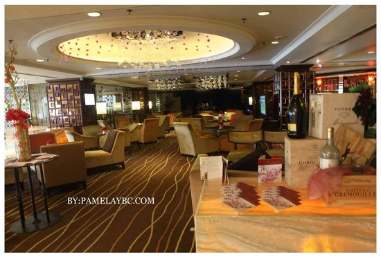 Dorsett Grand Subang:                                     The private lounge
