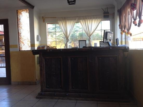 Hacienda Los Algodones:                                     Front Desk Reception Area