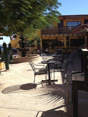 Hacienda Los Algodones:                                     Courtyard