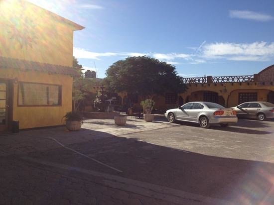 Hacienda Los Algodones:                                     Parking Lot